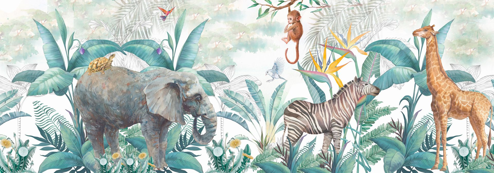Nuevo mural Safari Africa